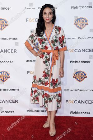 Tala Ashe attends Barbara Berlanti Heroes Gala Benefitting FCancer at Warner Bros. Studio, in Burbank, Calif