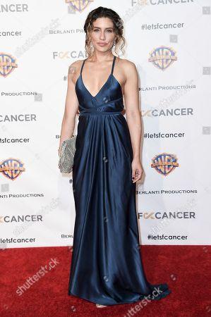 Juliana Harkavy attends Barbara Berlanti Heroes Gala Benefitting FCancer at Warner Bros. Studio, in Burbank, Calif
