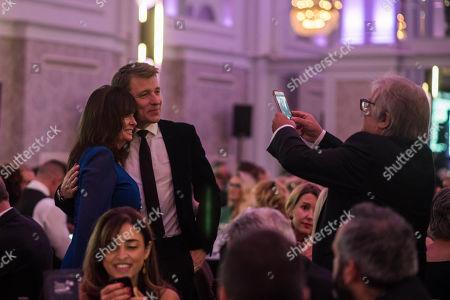 Vicki Michelle MBE with Ben Shephard.