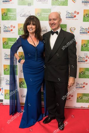 Vicki Michelle MBE with Mike Palfreman CEO of Haven House.