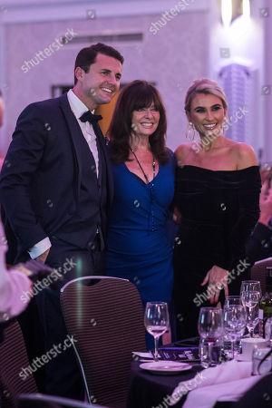 Greg Shepherd, Vicki Michelle MBE and Billie Faiers.