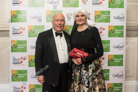 Lord Julian Fellowes and Lady Fellowes.