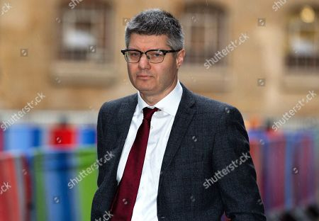 Lord Simon Wolfson, Baron Wolfson of Apsley Guise, Chief Executive of Next, arrives for The Andrew Marr Television Show