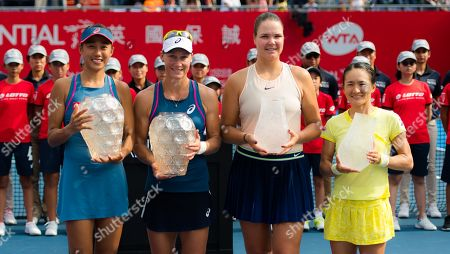 Editorial image of WTA Hong Kong Open tennis tournament, China - 14 Oct 2018