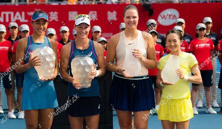 Editorial photo of WTA Hong Kong Open tennis tournament, China - 14 Oct 2018