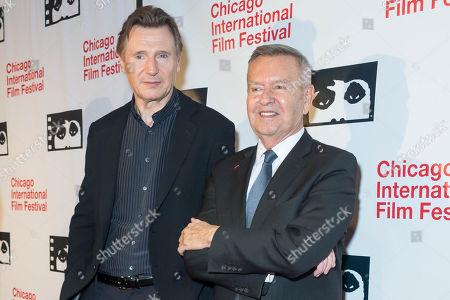 Liam Neeson and Michael Kutza