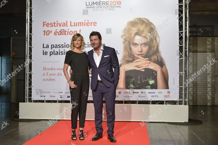 Philippe Lellouche and Vanessa Boisjean