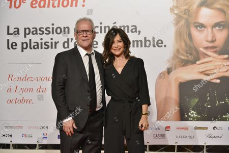 Thierry Fremaux and Evelyne Bouix