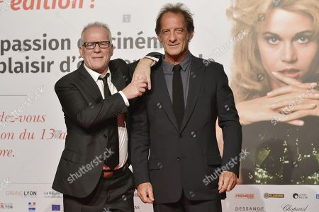 Thierry Fremaux and Vincent Lindon