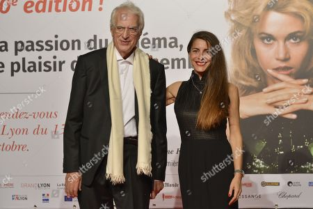 Bertrand Tavernier and Audrey Dana