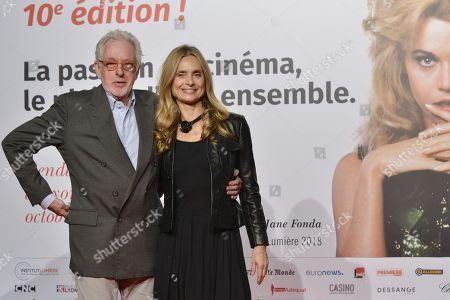 Hugh Hudson and Maryam d Abo