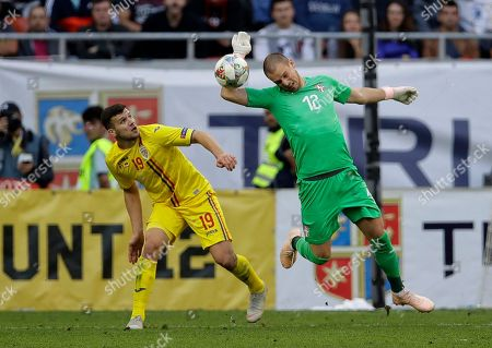 Editorial picture of Serbia Nations League Soccer, Bucharest, Romania - 14 Oct 2018