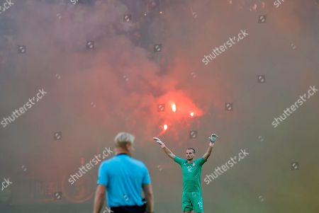 Editorial image of Serbia Nations League Soccer, Bucharest, Romania - 14 Oct 2018
