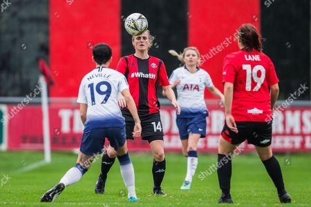 Editorial image of Lewes FC Women vs Tottenham Hotspur Ladies - 14 Oct 2018