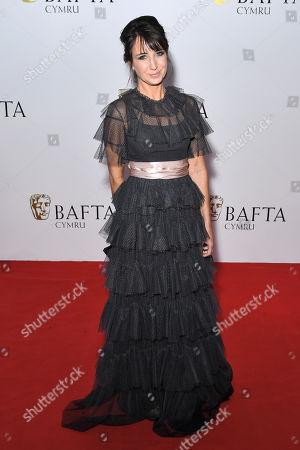 Editorial photo of British Academy Cymru Awards, Arrivals, St David's Hall, Cardiff, Wales, UK - 14 Oct 2018