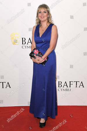 Editorial photo of British Academy Cymru Awards, Arrivals, St David's Hall, Cardiff, Wales, UK - 14 Oct 2018