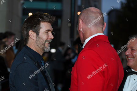 Rhod Gilbert and Gareth Thomas