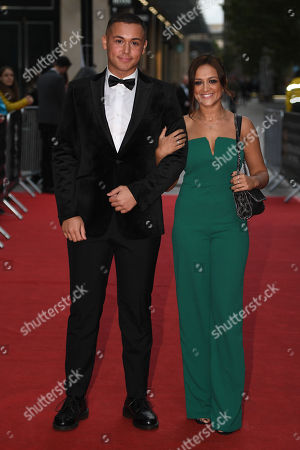 Stock Picture of Shaheen Jafargholi and Amy-Leigh Hickman