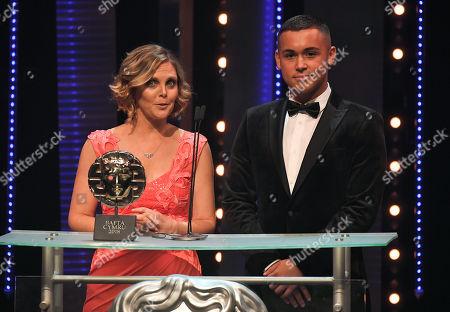 Editorial photo of British Academy Cymru Awards, Ceremony, St David's Hall, Cardiff, Wales, UK - 14 Oct 2018