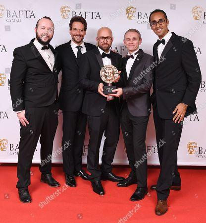 Richard Pring, David Banner, Tobias Weber and Kurban Kassam - Game - 'Late Shift'