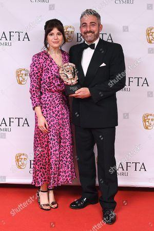 Editorial picture of British Academy Cymru Awards, Press Room, St David's Hall, Cardiff, Wales, UK - 14 Oct 2018