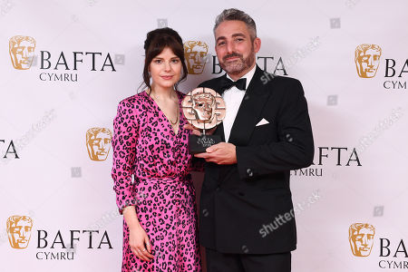 Editorial photo of British Academy Cymru Awards, Press Room, St David's Hall, Cardiff, Wales, UK - 14 Oct 2018