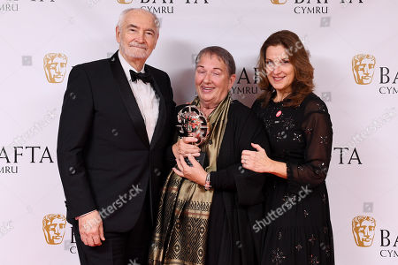 Lindy Hemming - Sian Phillips Award, presented by Barbara Broccoli and Michael G Wilson