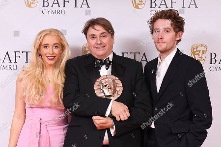 Editorial picture of British Academy Cymru Awards, Press Room, St David's Hall, Cardiff, Wales, UK - 14 Oct 2018