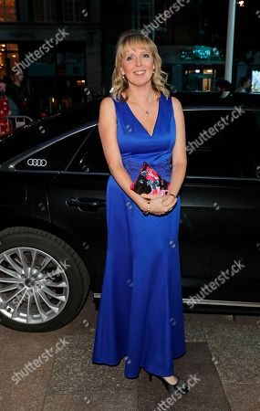 Editorial image of British Academy Cymru Awards, Audi Arrivals, St David's Hall, Cardiff, Wales, UK - 14 Oct 2018