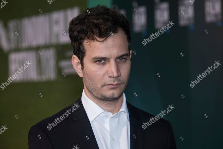 Stock Picture of Michael Moshonov poses for photographers upon arrival at the premiere for the film 'The Little Drummer Girl' showing as part of the BFI London Film Festival in London