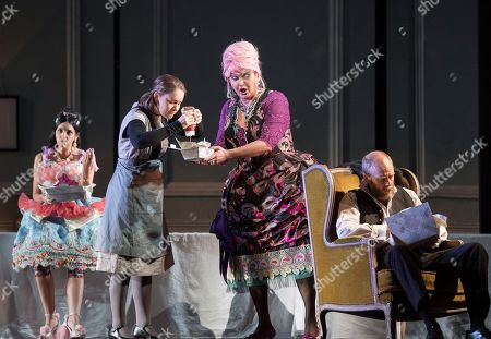 Editorial image of Cinderella (Cendrillon) Opera performed by Glyndebourne Touring Company, E Sussex, UK, 11 Oct 2018