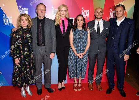 Tricia Tuttle, Phil Hay, Nicole Kidman, Karyn Kusama, Fred Berger and Zygi Kamasa
