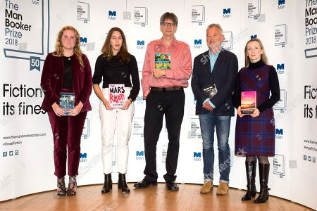 Editorial image of Man Booker Prize, Nominations, London, UK - 14 Oct 2018