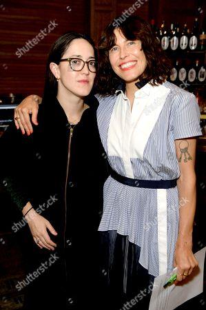 Stock Picture of Dominga Sotomayor and Tabitha Denholm