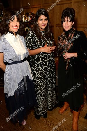 Stock Image of Tabitha Denholm, Jayisha Patel and guest