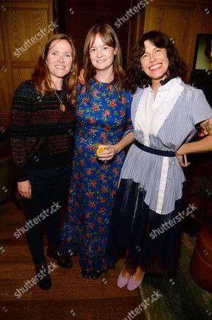 Stock Photo of Jessica Hynes, Leith Clark and Tabitha Denholm