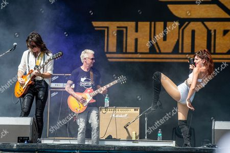 Mike McCready, Molly Sides, Whitney Petty. Mike McCready, left, of Pearl Jam