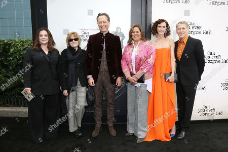 Melissa McCarthy, Jane Curtain, Richard E. Grant, Anna Deavere Smith, Dolly Wells and Stephen Spinella