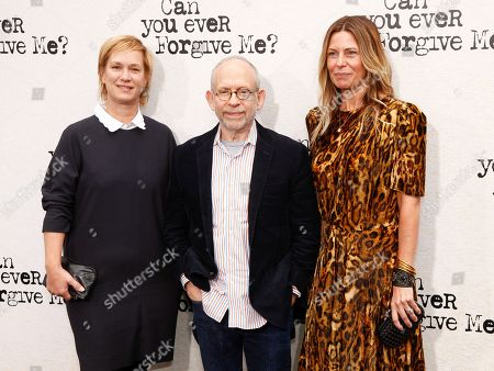 Anne Carey, Bob Balaban, Amy Nauiokas