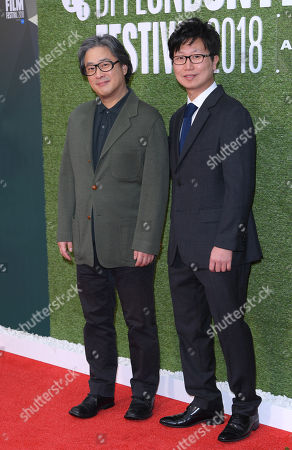 Park Chan-Wook (L) and Wonjo Jeong (R)
