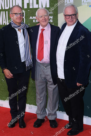 Stephen Cornwell, John Le Carre and Simon Cornwell