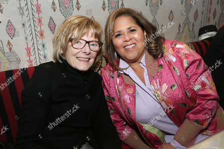 Jane Curtain and Anna Deavere Smith