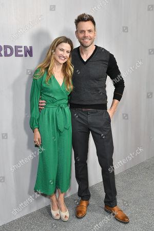 Sarah Williams and Joel McHale