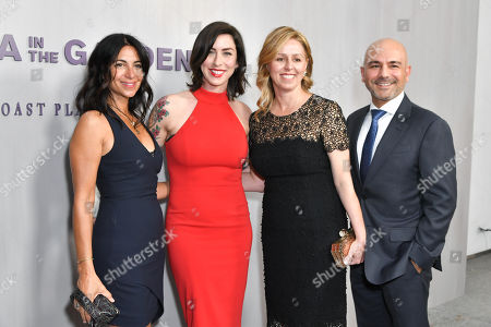 Carolyn Rafaelian, Kate Richard, Melina Esrailian and Eric Esrailian