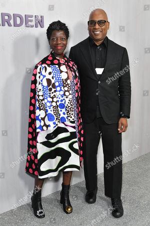 Stock Picture of Thelma Golden and Glenn Ligon