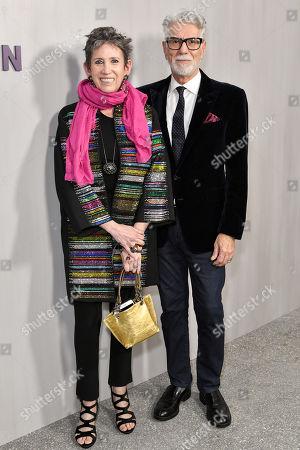 Stock Image of Beth Rudin DeWoody and Firooz Zahedi