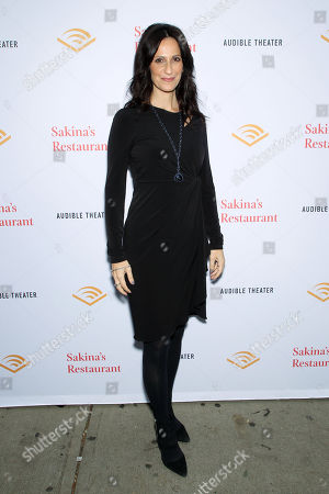 Editorial picture of Audible Theater Presents 'Sakina's Restaurant', New York, USA - 14 Oct 2018
