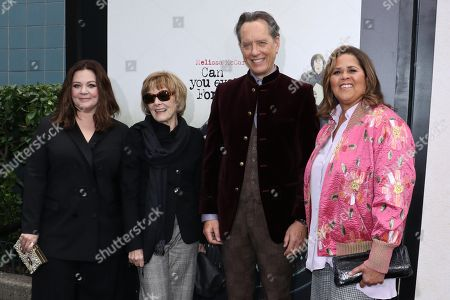 Melissa McCarthy, Jane Curtain, Richard E. Grant and Anna Deavere Smith