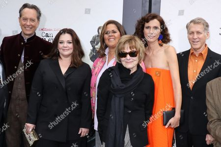 Richard E. Grant, Melissa McCarthy, Anna Deavere Smith, Jane Curtain, Dolly Wells and Stephen Spinella
