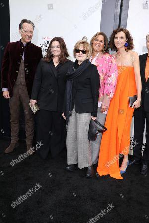 Richard E. Grant, Melissa McCarthy, Jane Curtain, Anna Deavere Smith, Dolly Wells